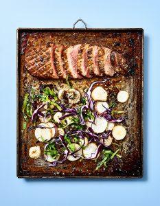 Photo culinaire- Magret de cnard - 7 min en cuisine - Hachette - ©Maud Argaïbi
