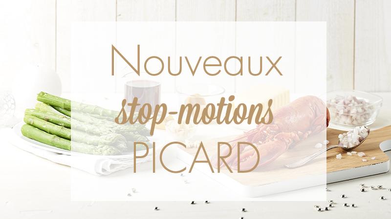 Nouveaux stop-motions pour Picard par Maud ARGAIBI