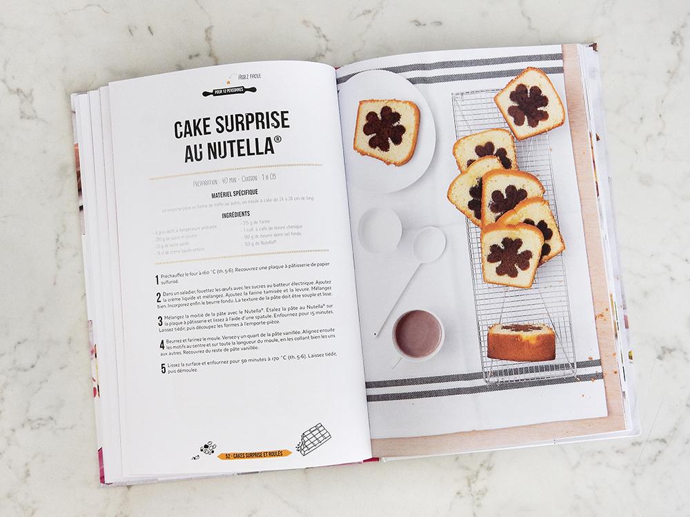Livre Zebra Cakes - Cake nutella surprise