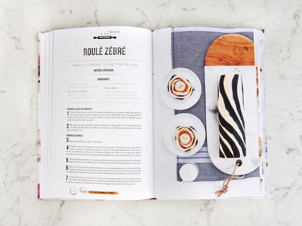Livre Zerba Cakes - Roule zebre