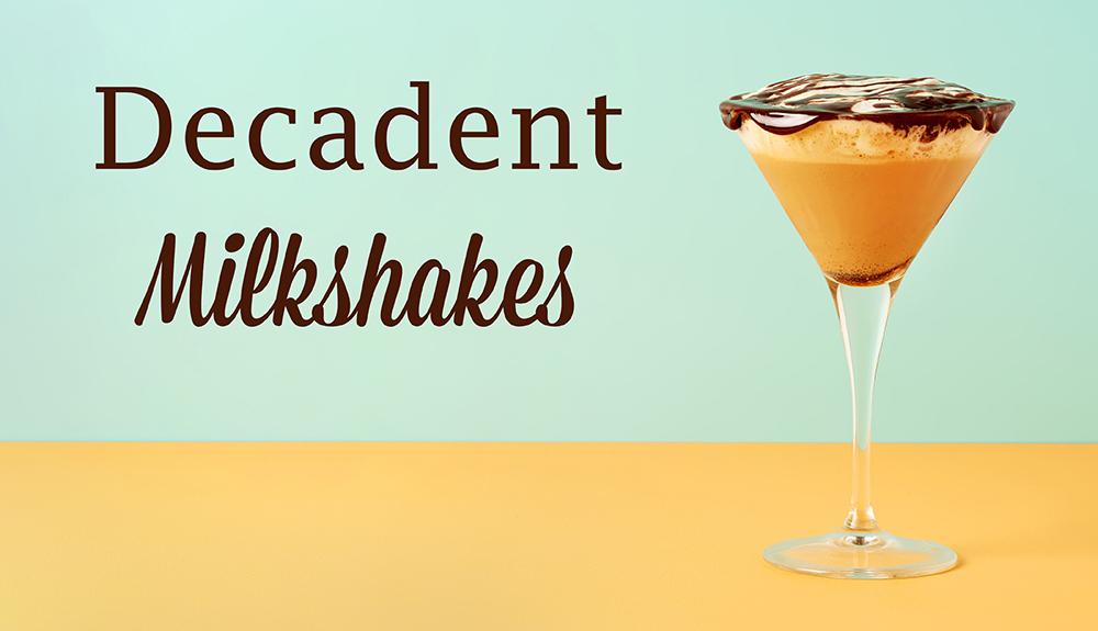 photo culinaire livre decadent milkshakes