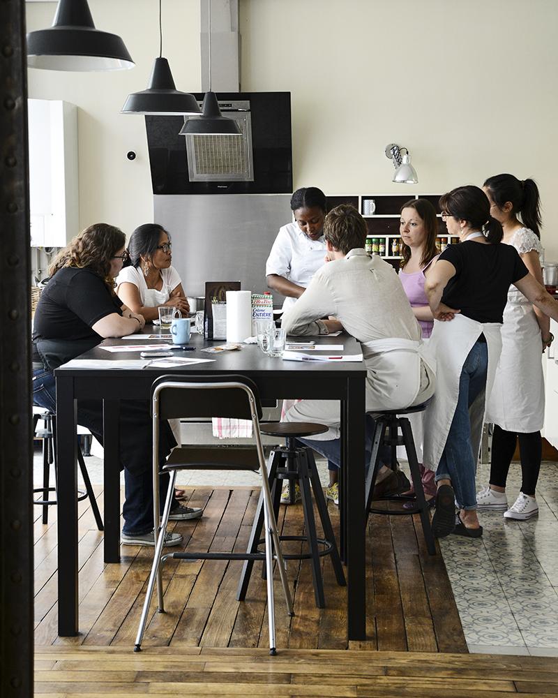 Photo location espace pour cours de cuisine à Paris